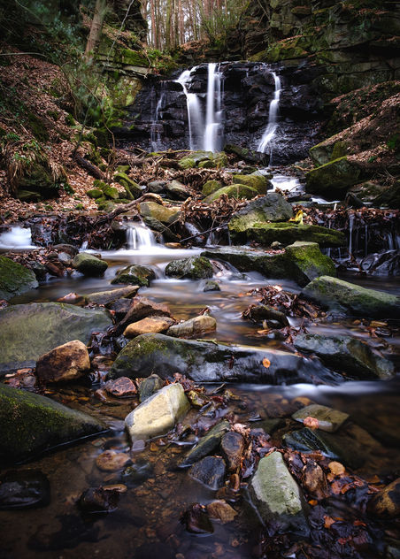 Old Allensford Waterfall - image gratuit #413035