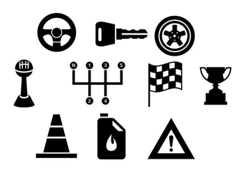 Free Car Elements Vector - бесплатный vector #413235
