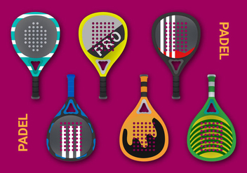 Free Padel Vector Illustration - Kostenloses vector #413695