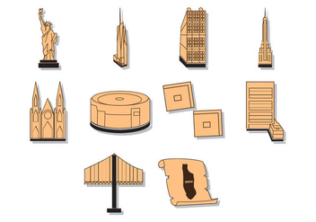Free Manhattan Map Illustration Vector - Free vector #413835