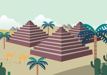 Free Piramide Illustration - бесплатный vector #414285