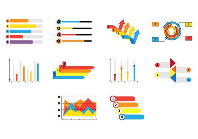 Free Infographic Elements Vector - vector gratuit #414295