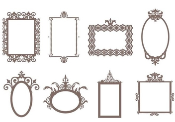 Free Decorative Frames Vector - vector gratuit #414735
