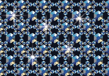 Rhinestone Background - vector #415215 gratis