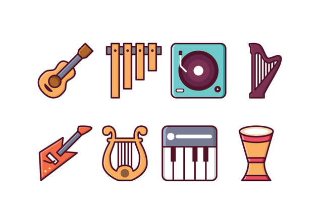 Free Instrument Icons - vector #415395 gratis