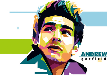 Andrew Garfield - Hollywood Life - WPAP - бесплатный vector #415405