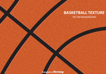 Basketball Texture Vector Background - vector gratuit #415435