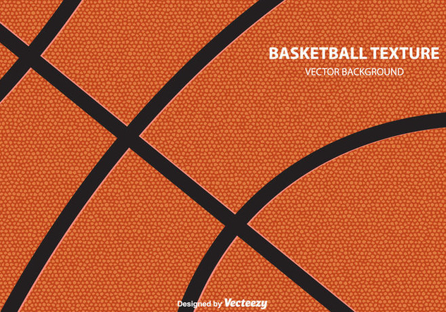 Basketball Texture Vector Background - Free vector #415435