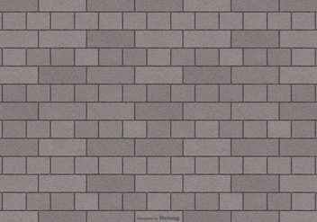 Grey Brick Pattern Background - vector #415455 gratis