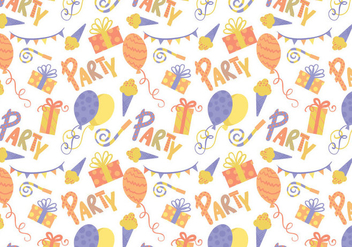Free Party Pattern Vectors - бесплатный vector #415615