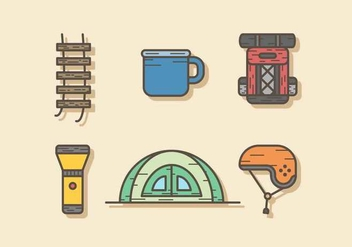 Free Adventure Gear Vector - Free vector #415705