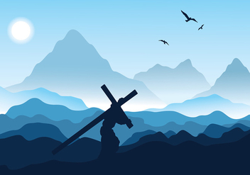 Holy Week Day Free Vector - vector gratuit #415935