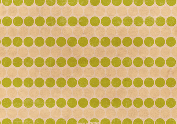 Grunge Polka Dot Pattern Background - vector gratuit #415955
