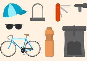 Free Bicycle Vector Collections - бесплатный vector #416005