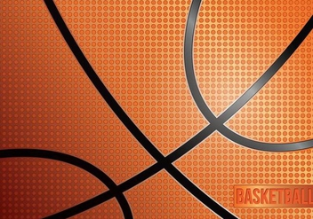 Basketball Texture - vector gratuit #416215