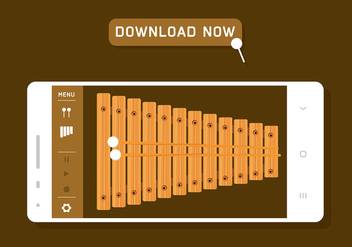 Marimba App Free Download - Free vector #416285