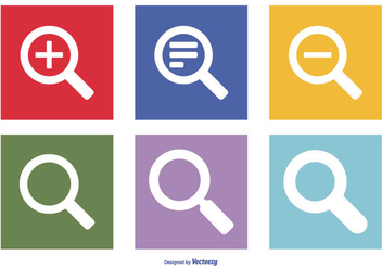 Search Vector Icon Collection - vector #416315 gratis