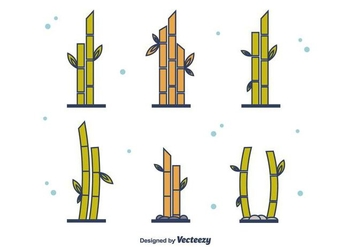 Free Bamboo Set - Kostenloses vector #416355
