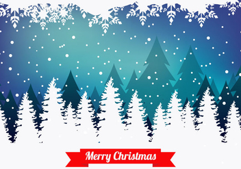Merry Christmas Background - vector gratuit #416365