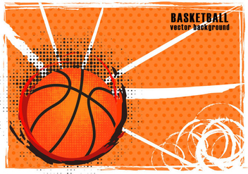 Basketball Texture Background - vector gratuit #416395