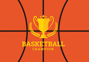 Basketball Texture Free Vector - бесплатный vector #416495