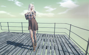 Beth Cashmere Dress by Prism @ Fusion 101 - бесплатный image #416795