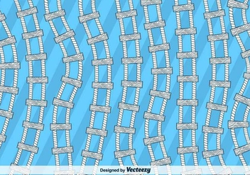 Rope Ladder Vector Background - Kostenloses vector #416875