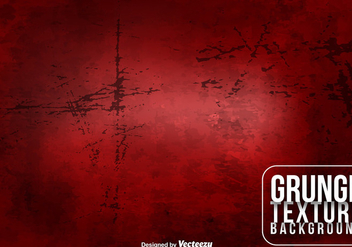 Vector Red Grungy Background - бесплатный vector #417035