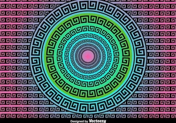 Versace Greek Vector Background - vector #417245 gratis