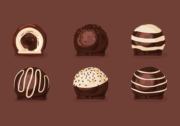 Toffee Set Free Vector - бесплатный vector #417285