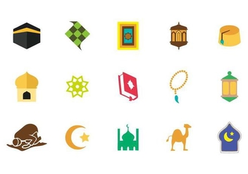 Free Islamic Icons Vector - Kostenloses vector #417685
