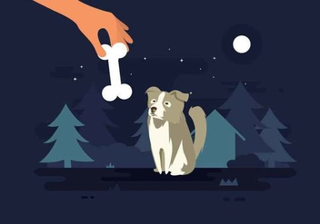 Free Border Collie Illustration - vector #417935 gratis