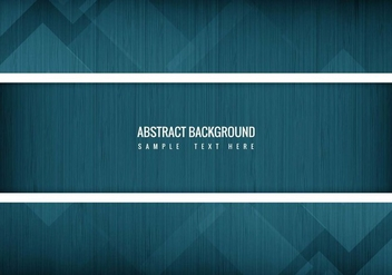 Free Vector Blue Abstract Background - Free vector #418165