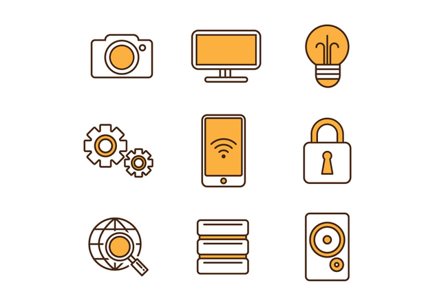 Free Technology Icons - бесплатный vector #418255