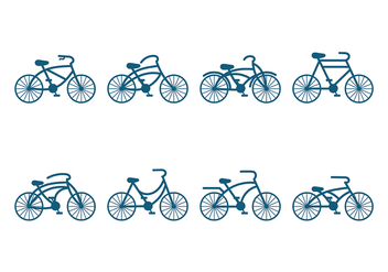 Bicicleta Icon Vector - бесплатный vector #418375