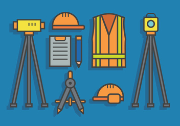 Surveyor vector - vector #418415 gratis