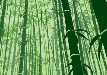 Bamboo Background Frog Angle Free Vector - Free vector #418525