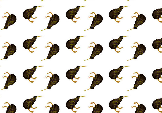 Free Kiwi Bird Seamless Pattern Vector Illustration - vector gratuit #418665