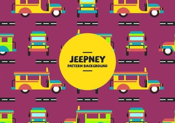 Jeepney Pattern - Free vector #418895