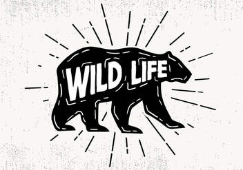 Free Hand Drawn Wild Life Background - Free vector #419055