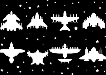 Free Starship Icons Vector - Kostenloses vector #419525
