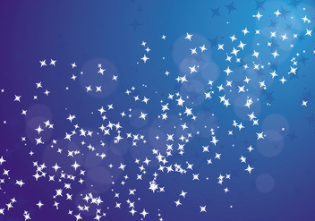 Stardust Background Vector - Free vector #419545