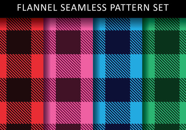 Colorful Flannel Vectors - Free vector #419745