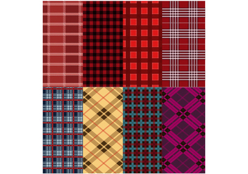 Free Flannel Pattern Vector - бесплатный vector #419765