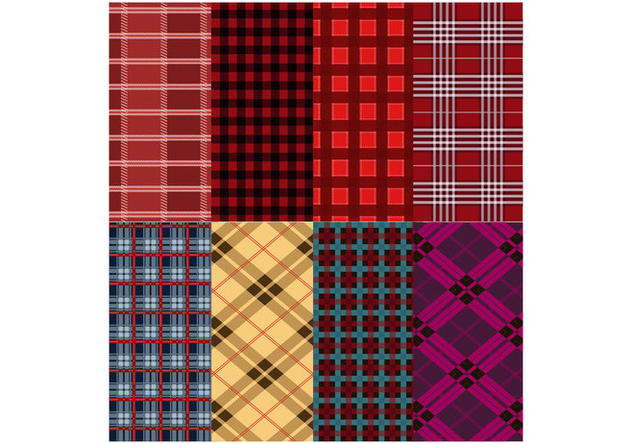 Free Flannel Pattern Vector - Free vector #419765