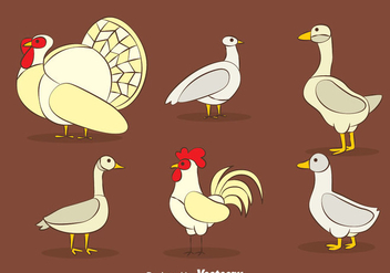 Fowl Vector Sets - Free vector #419845