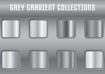 Grey Gradient Collections - Free vector #419895