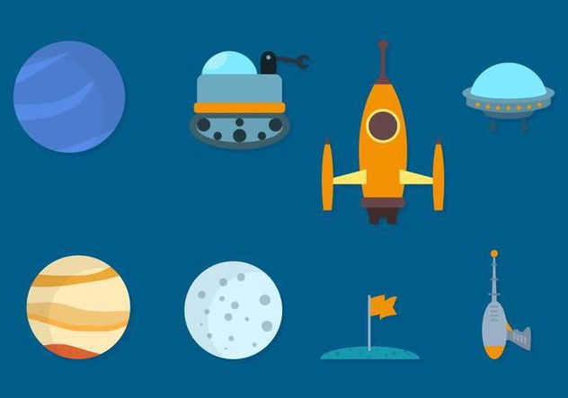 Free Space Vector Collection - vector gratuit #420215