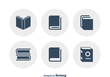 Free Vector Book Icons - бесплатный vector #420415