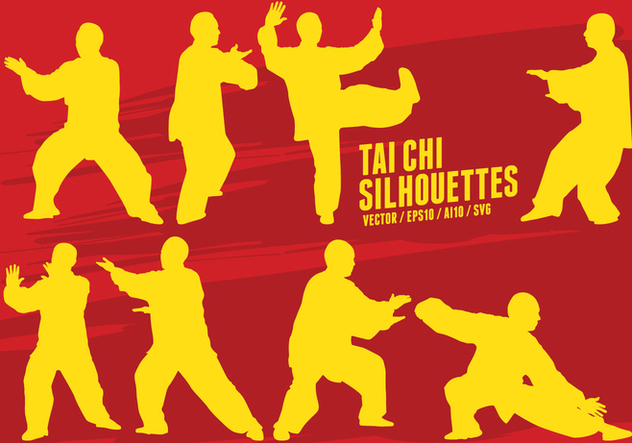 Tai Chi Martial Arts - Free vector #420695